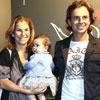 Arantxa Sánchez Vicario y Josep Santacana llevan a su hija al teatro por primera vez