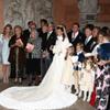 Leticia Rato, sobrina de Rodrigo Rato, toda una princesa en su boda de cuento de hadas en Roma
