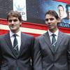 Los estrellas del tenis mundial posan al más puro estilo 'british'