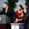 Los Obama nos enseñan la decoración navideña de la Casa Blanca