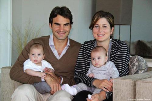 Roger Federer posa en familia por Navidad