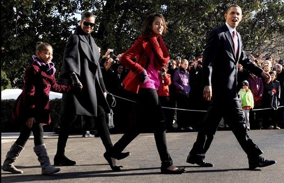 Los Obama pasan la Navidad en Hawái