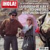Exclusiva en ¡HOLA!: En un viaje lleno de emoción y misterio, la Duquesa de Alba y Alfonso Díez, aventura en Egipto