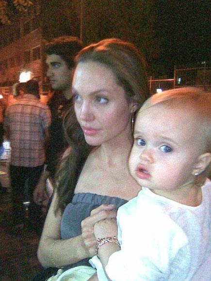 La foto de Vivienne, el bebé de Angelina Jolie y Brad Pitt, es la favorita de nuestros lectores
