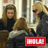 Sólo en la revista ¡HOLA!: Las fotografías del insólito encuentro de Belén Esteban y María José Campanario en Madrid