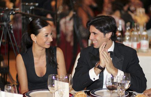 Francisco Rivera y Cecilia Gómez, felices y muy elegantes en Santander