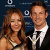 Jenson Button recibe el premio Laureus al deportista revelación del año acompañado por su novia, Jessica Michibata