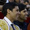 Francisco Rivera, junto a su hermano Cayetano, recupera la sonrisa tras su ruptura con Cecilia Gómez