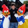 Ricky Rubio descarga adrenalina en Portaventura: 'Me siento como un niño y me encanta probar todas las atracciones'