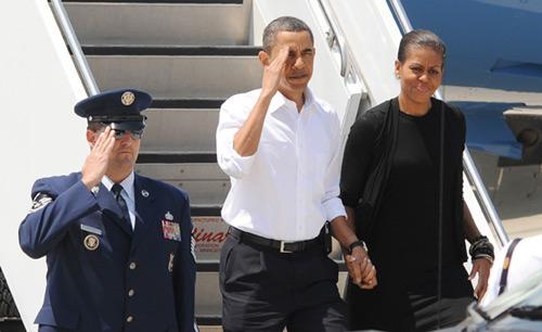 Barack y Michelle Obama disfrutan de una escapada romántica de fin de semana