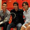 Parejas famosas y rostros conocidos, reunidos en la Caja Mágica para apoyar a los tenistas españoles en el Masters de Madrid