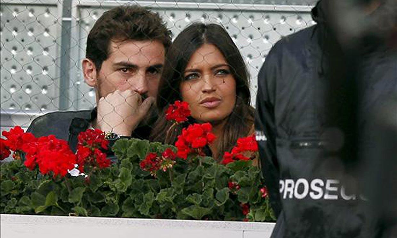 Sara Carbonero e Íker Casillas, dos enamorados en el tenis