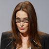 Carla Bruni, la gran abanderada en la lucha contra el Sida