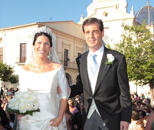 Manuel Colonques, hijo del Presidente de Porcelanosa, contrae matrimonio con Cristina Babiloni en Castellón