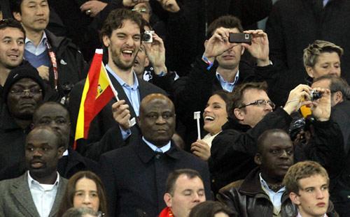Los famosos celebran el triunfo de la selección española en el Mundial