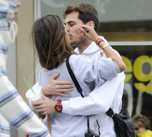 Íker Casillas y Sara Carbonero en San Francisco, ...'y eso es lo que quiero, besos, que todas la mañanas me despierten de esos,...'