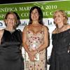 Carmen Martínez Bordiú, Nuria Fergó, Carmen Lomana y Bárbara Rey apoyan, en Marbella, a la Asociación Española Contra el Cáncer