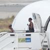 Michelle Obama y su hija Sasha llegan a Marbella