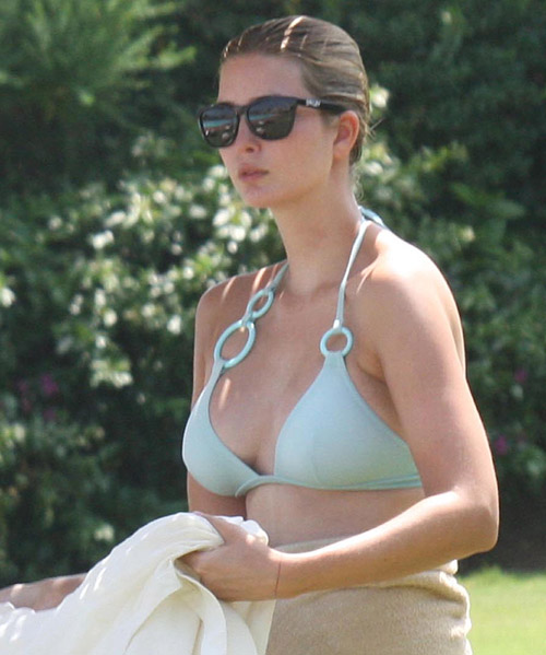 ivanka trump bikini photos