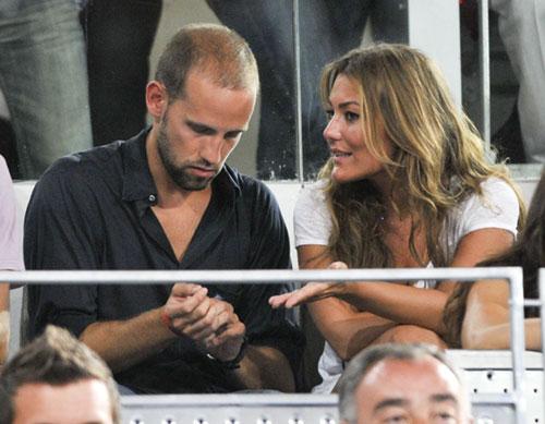 Cristiano Ronaldo e Irina Shayk, muy cariñosos en su primera aparición pública en España