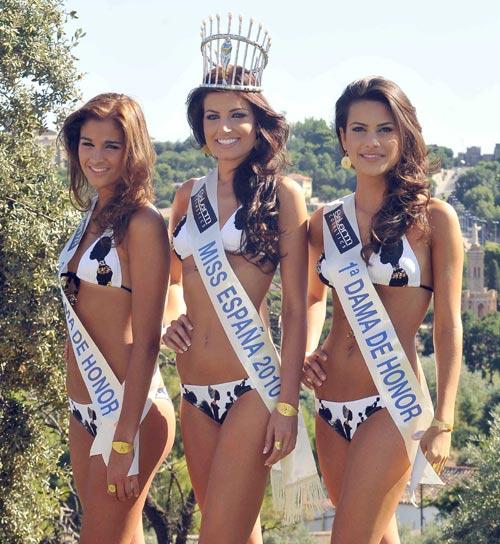 Paula Guilló, tras ser coronada Miss España 2010: 'Quiero disfrutar de mi reinado y hacerlo lo mejor posible'