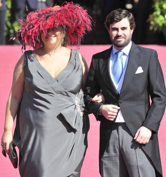 La elegancia de los invitados a la boda de Rafael Medina y Laura Vecino