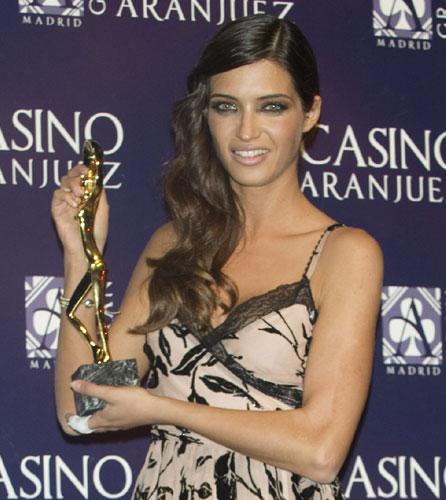 Sara Carbonero, protagonista de los premios 'Antena de Oro'