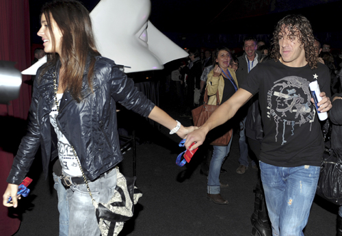 Puyol Y Malena Tattoo Pictures