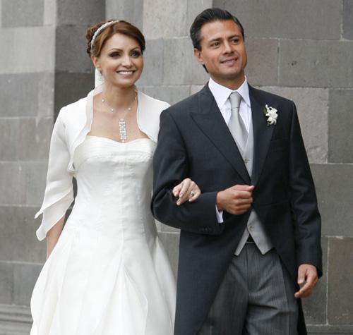 La romántica boda de Enrique Peña Nieto y Angélica Rivera
