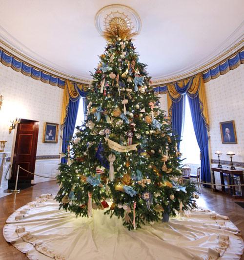 Fotos Casas Decoradas Navidad.Asi Ha Decorado Michelle Obama La Casa Blanca Por Navidad