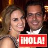 En ¡HOLA!: El baile de Genoveva Casanova y Gonzalo Vargas Llosa en la cena de los Nobel