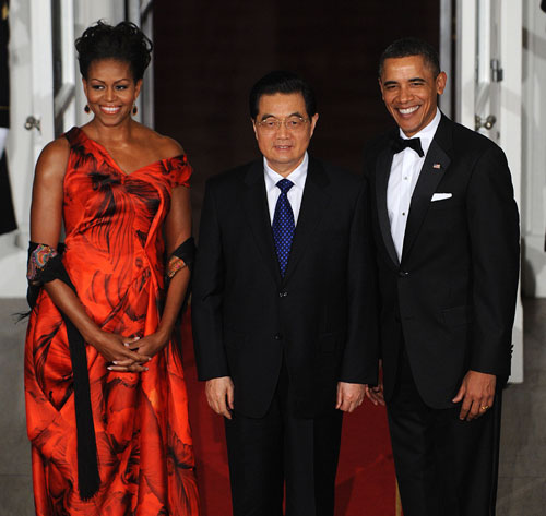 Los Obama abren las puertas de la Casa Blanca para una inolvidable noche de gala