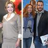 La Baronesa Thyssen, su hijo Borja y Blanca Cuesta, cada uno por su lado en ARCO