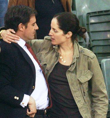 Feliciano López y María José Suárez coinciden por primera vez tras su complicada ruptura