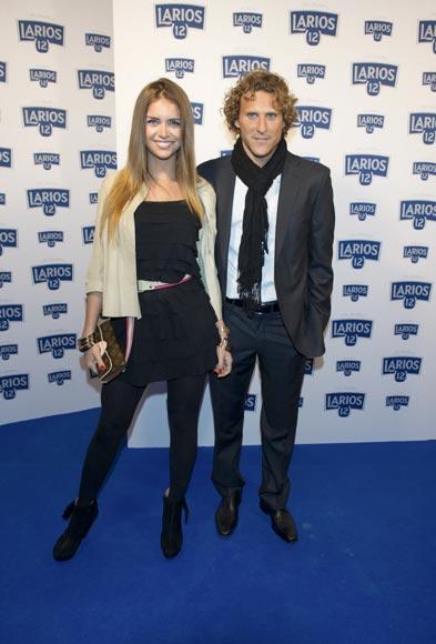 El futbolista Diego Forlán anuncia su boda con la modelo Zaira Nara