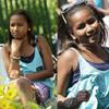 Las hijas de Obama, aburridas durante la Carrera de Huevos de Pascua que finalmente animó Willow Smith