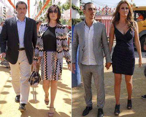 Laura Sánchez, Carmen Martínez Bordiú, José Campos, Elisabeth Reyes... la Feria de Abril se llena de rostros conocidos