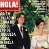 En ¡HOLA!: Boda en el palacio de Liria de Jacobo, nieto de la duquesa de Alba, con Asela Pérez Becerril