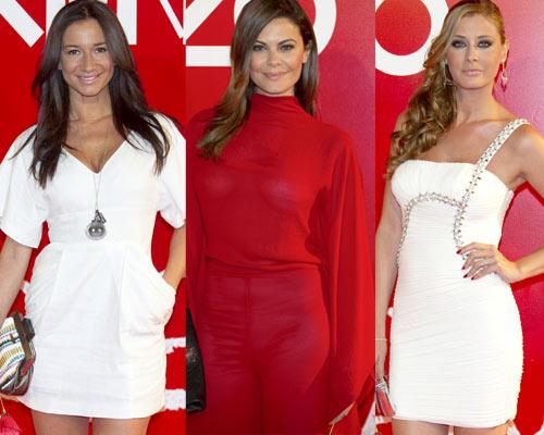 Elena Tablada, María José Suárez, Elisabeth Reyes, Cecilia Gómez... Dan la bienvenida al verano en una fiesta en rojo, blanco y negro