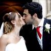 El fubolista Raúl Albiol y su novia, Alicia Roig, se casan en la catedral de Valencia