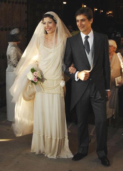 Alejandra de Borbón y Bosco Ussía esperan mellizos