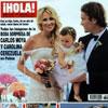 Esta semana en la revista ¡Hola!: Todas las imágenes de la boda sorpresa de Carlos Moyá y Carolina Cerezuela en Palma