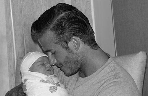 Las primeras imágenes de la pequeña Harper Seven Beckham