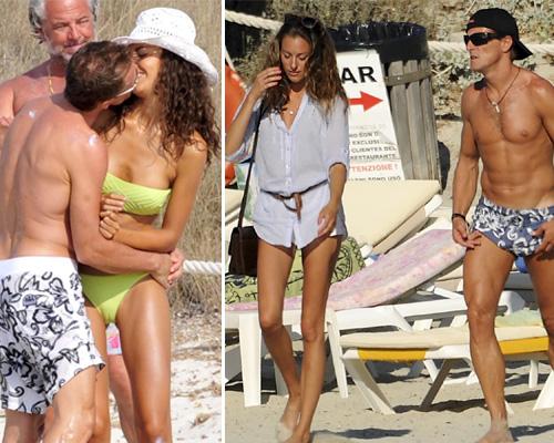 Sete Gibernau y su novia, la modelo Laura Barriales, viven un verano 'a toda velocidad' en Formentera