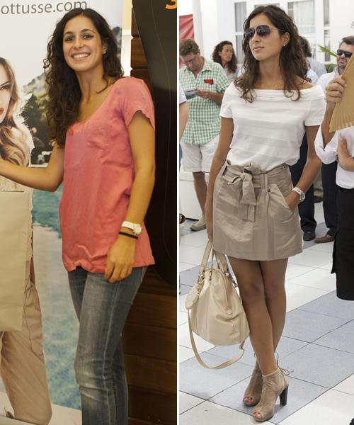 María Francisca Perelló, dos estilos para un día de regatas en Mallorca