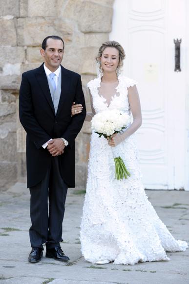 Tiziana hija menor de adolfo dom nguez se casa en una for Adolfo dominguez hijas