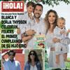 Esta semana en ¡HOLA!: Blanca y Borja Thyssen celebran felices el primer cumpleaños de su hijo Eric con una gran fiesta ibicenca