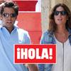 Fotografías exclusivas en ¡HOLA!: Francisco Rivera, muy ilusionado junto a Lourdes, una guapa abogada sevillana