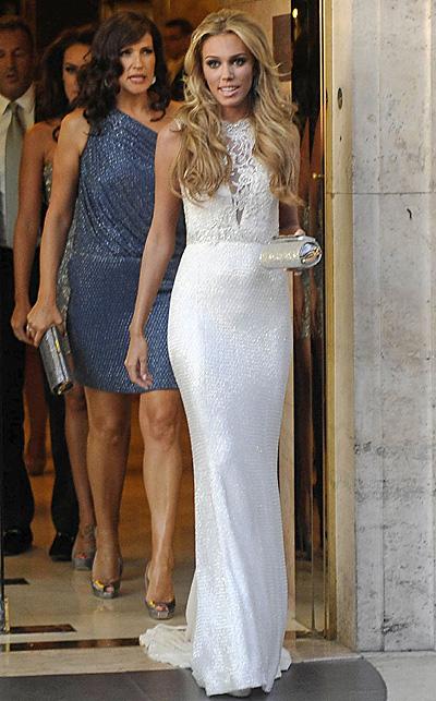 Petra Ecclestone, 'look' nupcial e invitados de lujo en la cena de ensayo previa a la boda de ensueño de la joven heredera