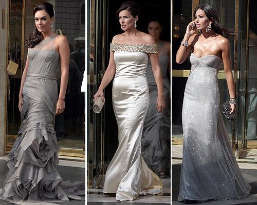 Tamara Ecclestone, Slavika Radic y Elisabetta Gregoraci en la boda de Petra Ecclestone